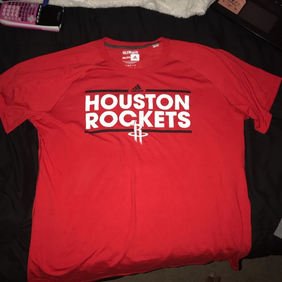 super popular 954f4 9ec35 Houston Rockets Adidas practice shirt